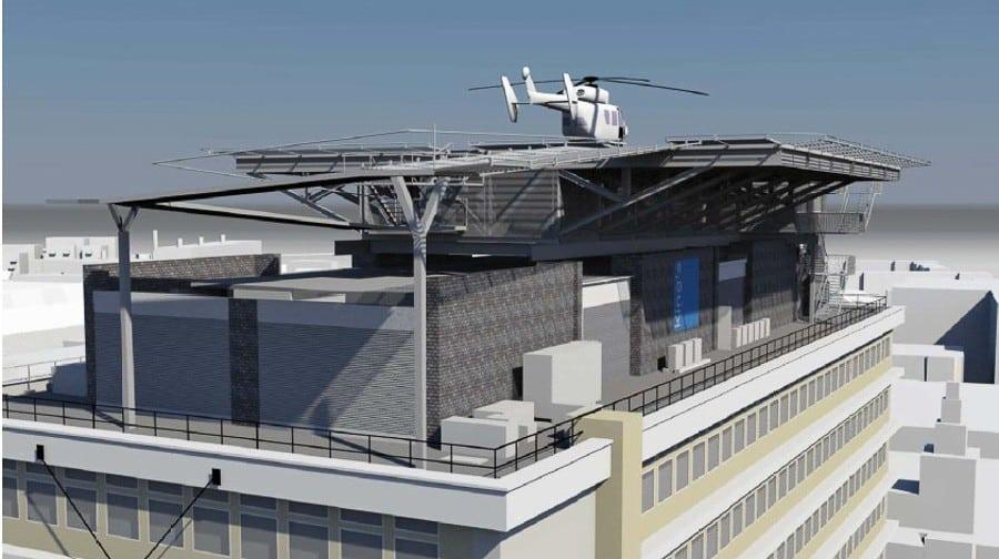 Helipad Works Begin At King S College Hospital Southwark