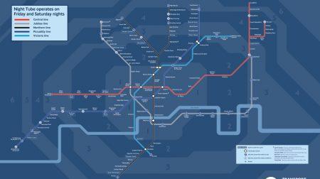 TfL Transport for London Night Tube Underground
