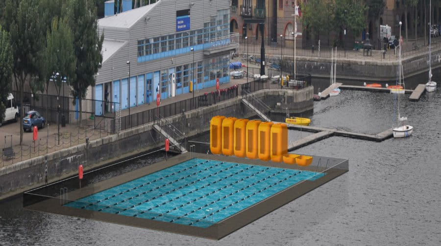 Plan For Swimming Pool In Rotherhithe 39 S Greenland Dock Gives Residents That Sinking Feeling