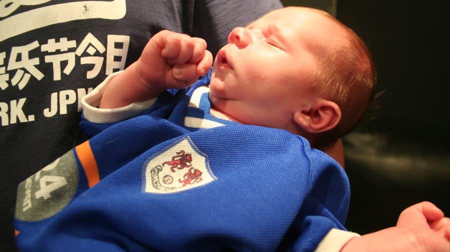 Millwall's youngest fan