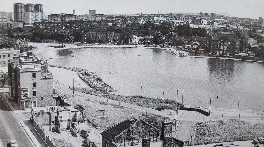 From Blitz to blossoms - how Burgess Park grew from wartime