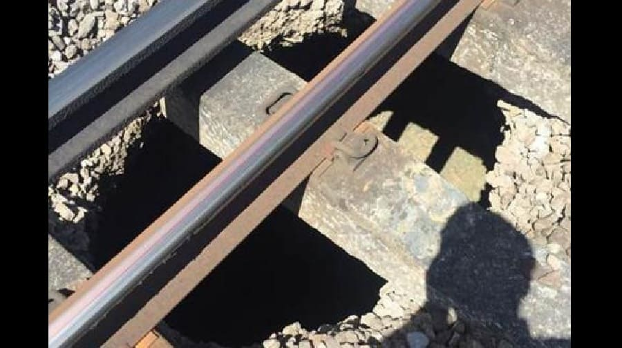 Train services at London Bridge in disarray after sinkhole opens up