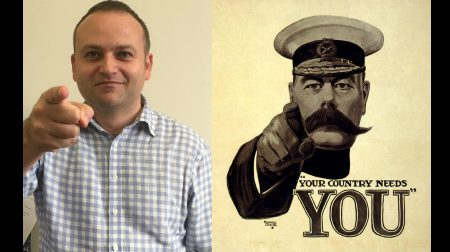 (L-R) Bermondsey and Old Southwark MP Neil Coyle and Lord Kitchener