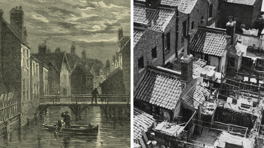 Looking Back At The Slums Of Southwark Southwark News