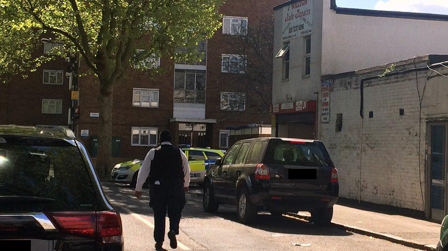 Car Crash In Peckham Today
