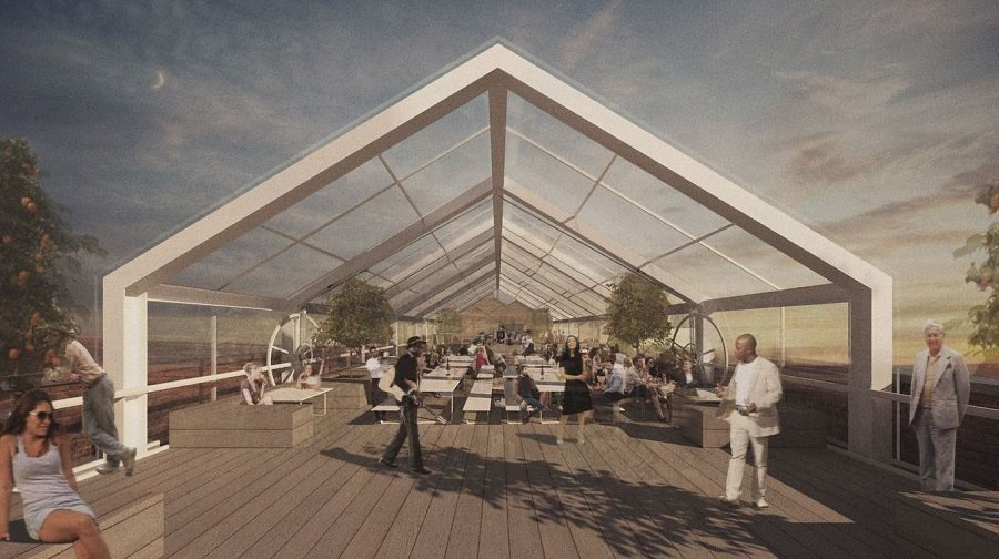 Peckham S Bussey Building To Get Big Glass Retractable