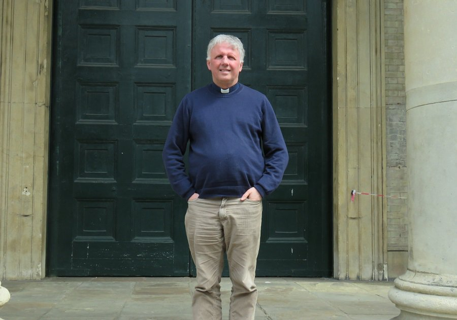 Gary Jenkins, vicar of St James' and St Anne's in Bermondsey
