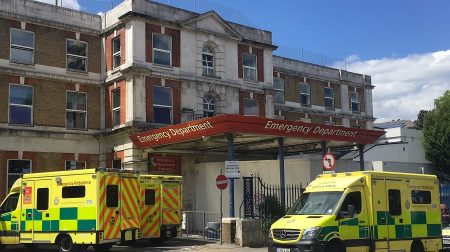 King's College Hospital emergency department