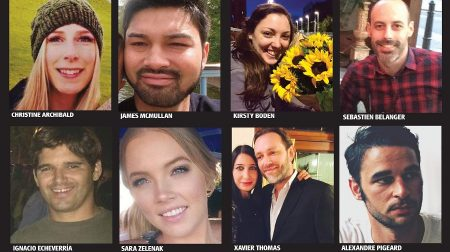 The eight victims who lost their lives during the London Bridge terror attack on June 3, 2017