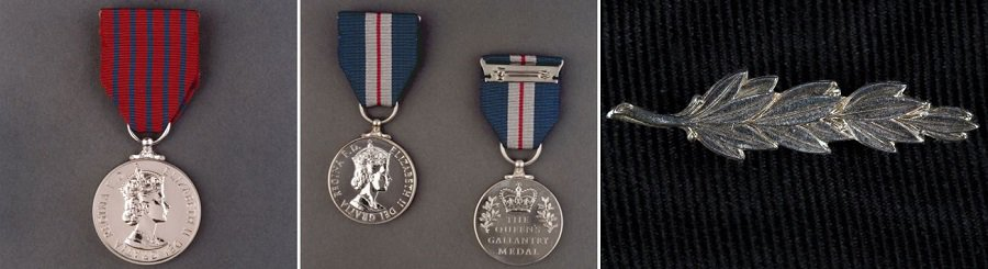 The George Medal, Queen's Gallantry Medal, and Queen's Commendation for Bravery (Cabinet Office)