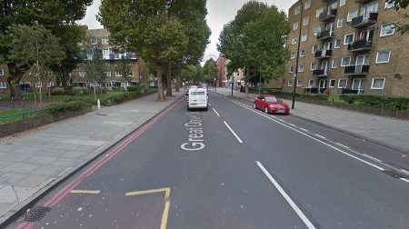 Generic view of Great Dover Street (Google)