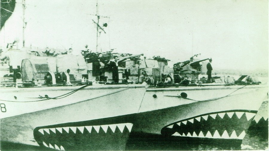 Motor torpedo boats (MTBs)