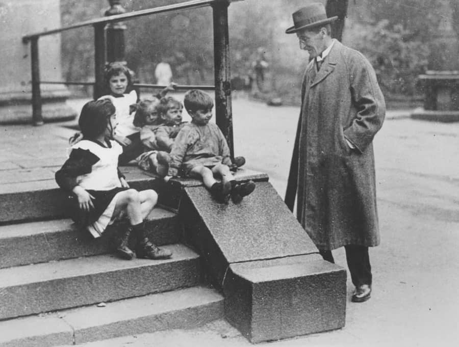 Peek Frean biscuit factory chairman Arthur Carr made it his mission to get a slide built at St James' churchyard in Bermondsey after seeing children use a step outside the church as a slide