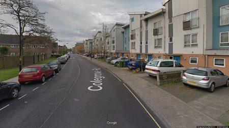 Generic view of Colegrove Road in Peckham (Google street view)