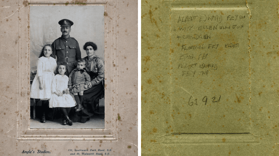 The Fey family (The Army Child Archive)