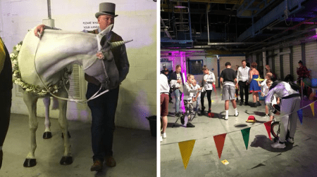Inside Monstrous Festival at Printworks in Rotherhithe (Lynsey Mitchell)