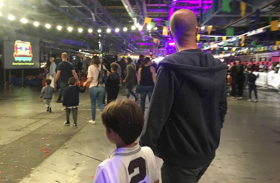 Picture inside Monstrous Festival at Printworks, in Rotherhithe (Lynsey Mitchell)