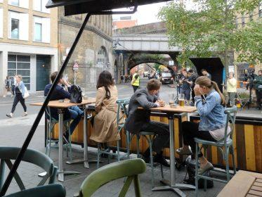 David Tennant in Southwark