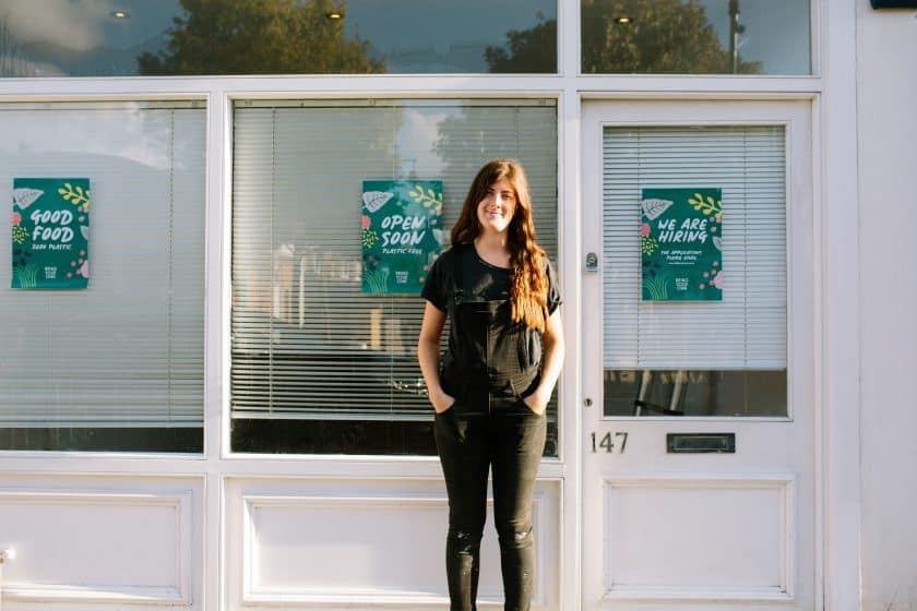 The venture is the brainchild of Laura Hipkiss, who became inspired after watching David Attenborough's Blue Planet series