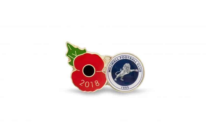 The limited edition badge allows fans of the club commemorate all those who have fallen in conflict ahead of the WW1 centenary