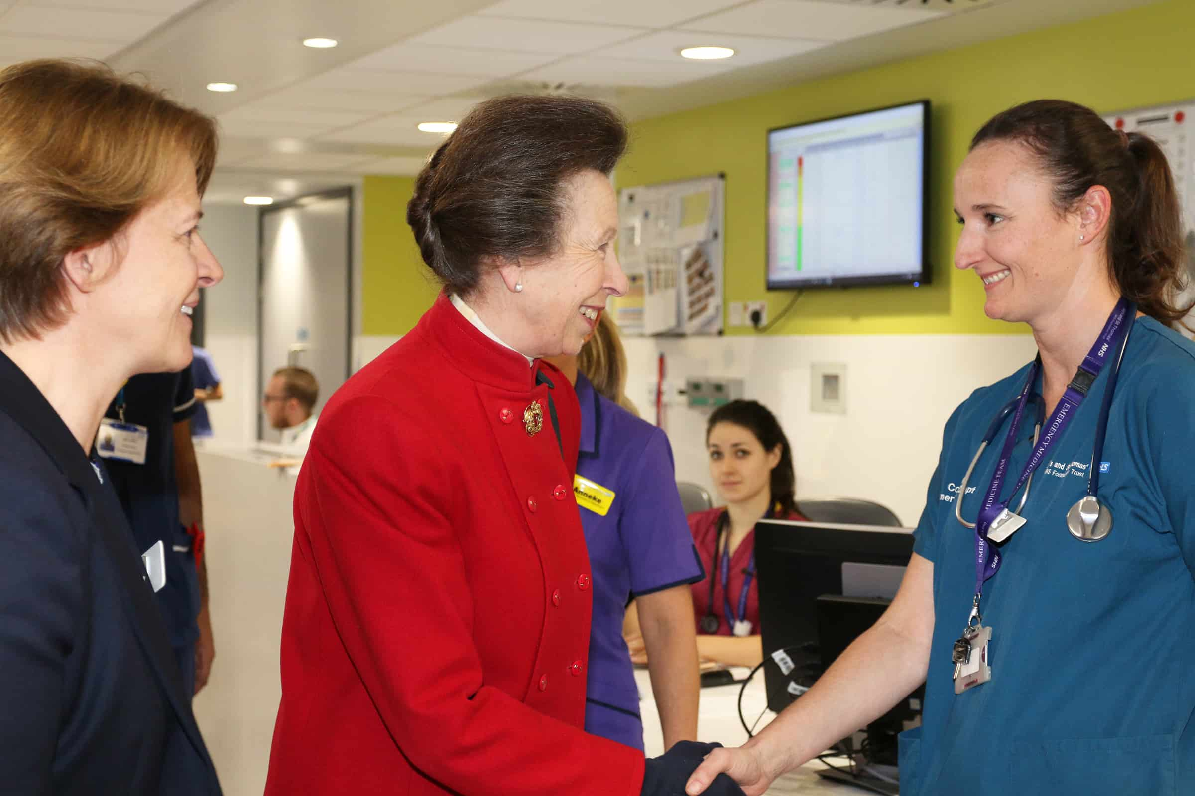 Princess Anne opens new emergency department at St Thomas