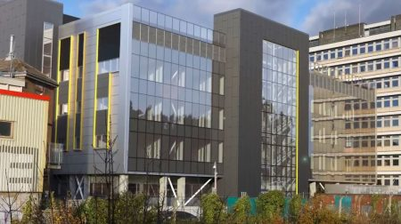 The new critical care building has been delayed over 'signficant' fire safety concerns and bosses say they don't yet know when it will open (Image: YouTube / King's College Hospital)