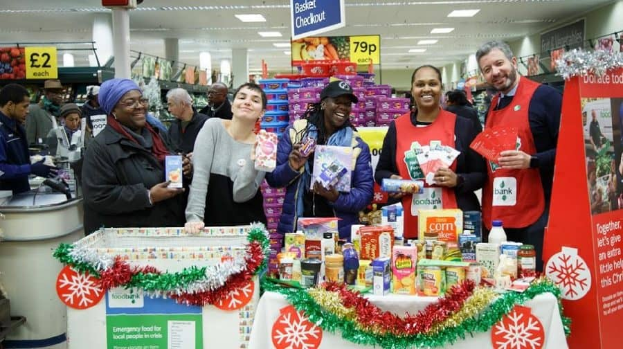 Supermarket Chain And Food Charities Call On Southwark