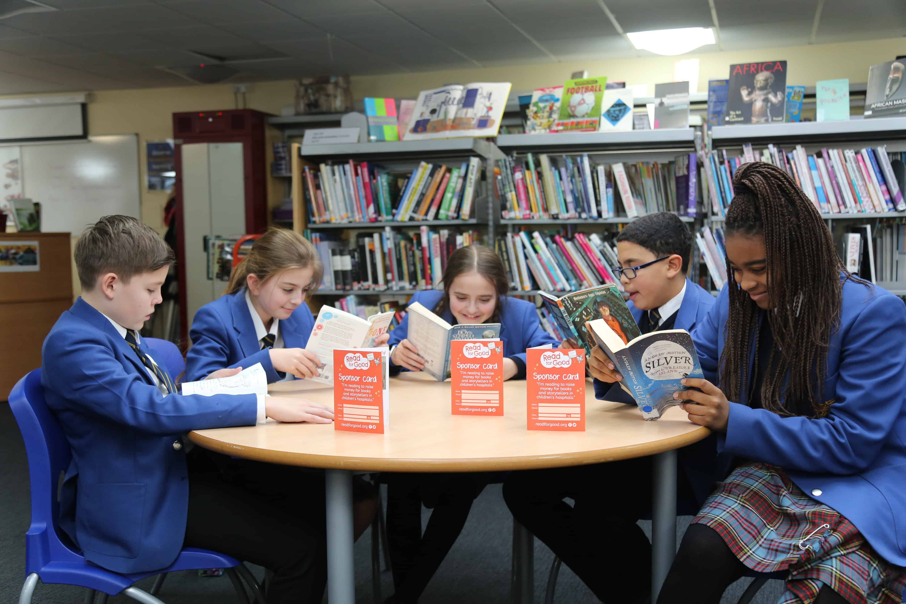Pupils At Rotherhithe's Bacon's College Get Reading Boost