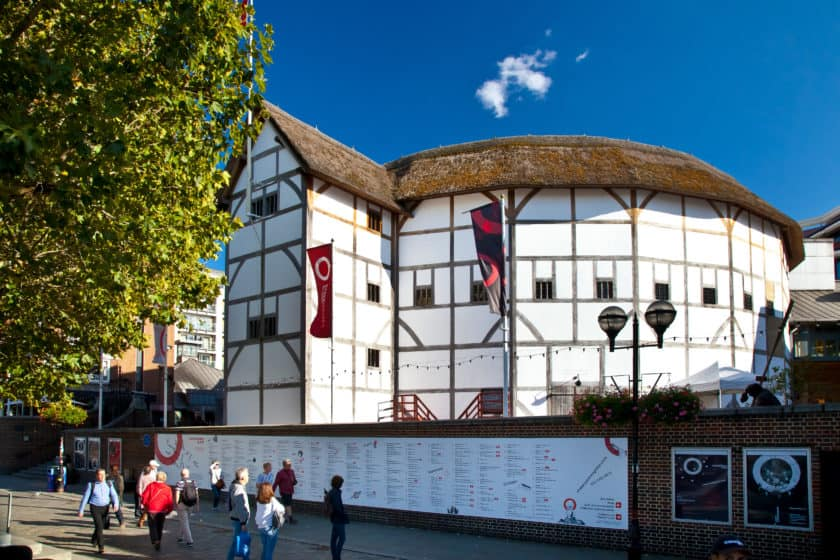 Shakespeare's Globe Theatre. Photo provided by Phoebe Coleman.