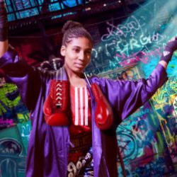 'Fight like a girl' focuses around the stories of females in boxing. Photo provided by British Youth Musical Theater.