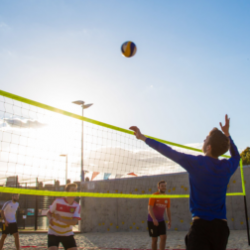 Bankside Open Spaces offers Beach Volleyball at Marlborough on Mondays.