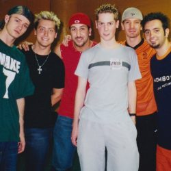 NSYNC in the US on tour