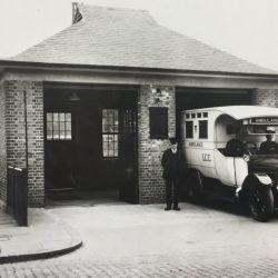 Old Kent Road Ambulance Station, in its heyday