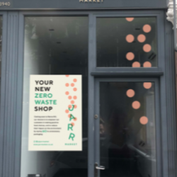 The outside of Herne Hill's first zero-waste shop, Jar Market. Photo provided by Jessica Rimoch.