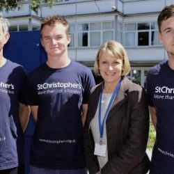 James Trafford, Joe Trafford, St Christopher's Heather Richardson, Hugo Trafford