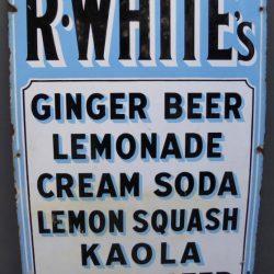 R Whites sign