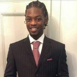 Police have released an image of Sidique Kamara, 23, who was stabbed to death in Warham Street, Camberwell