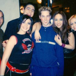 With Hear'Say in early 2001